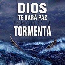 Dios te dara paz en medio de la tormenta