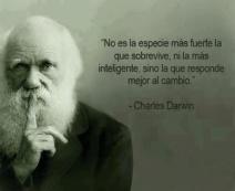 El cambio. Darwin